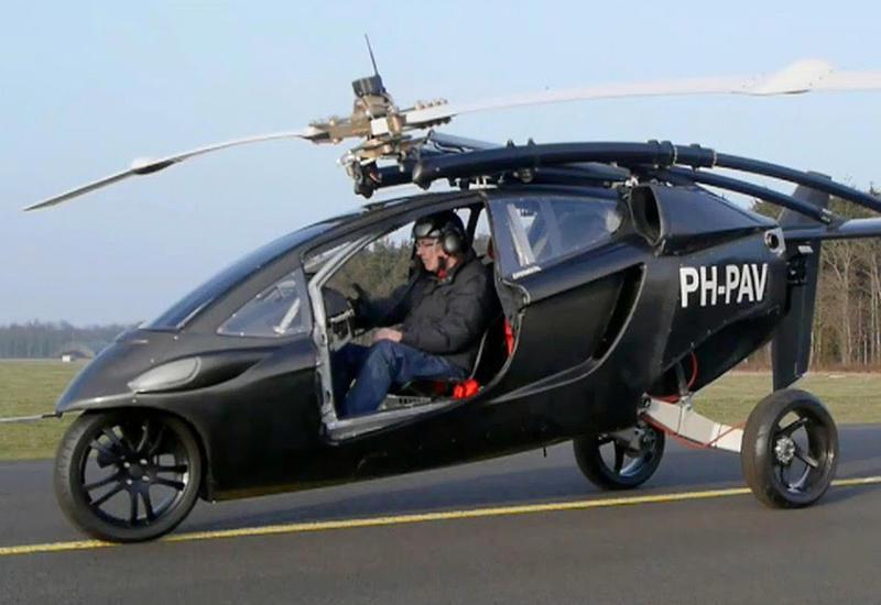 """Первый в мире летающий автомобиль поступит в продажу <span class=""""color_red"""">- ВИДЕО</span>"""