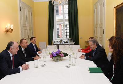 """Президент Ильхам Алиев: """"Референдум, связанный с внесением изменений в конституцию"""" самопровозглашенной """"НКР"""", является незаконным <span class=""""color_red"""">- ФОТО</span>"""