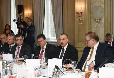 Президент Ильхам Алиев: Азербайджан будет играть важную роль в обеспечении энергобезопасности Европы