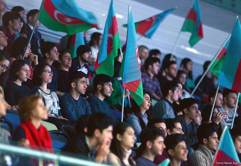 Болельщица: Отрадно, что в Азербайджане проводятся такие грандиозные соревнования по гимнастике