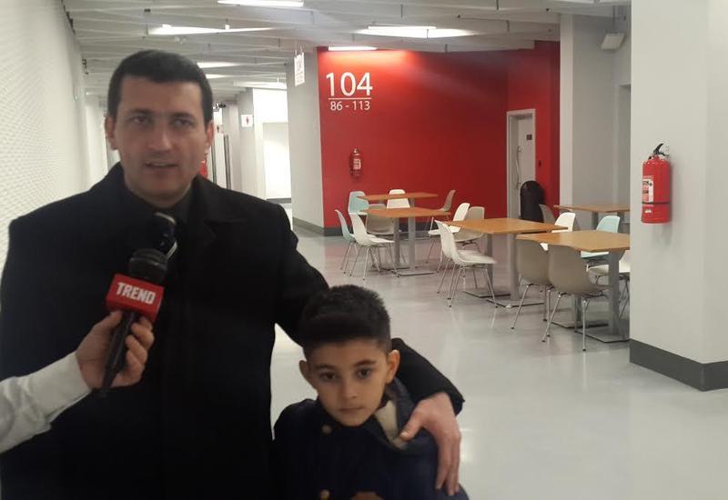 Болельщик: В Азербайджане уделяется большое внимание развитию гимнастики