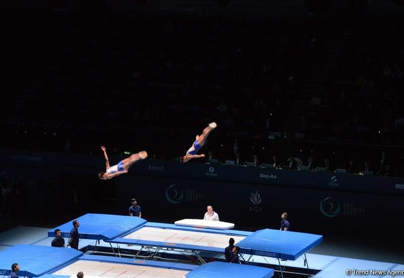 Казахстанские гимнасты завоевали золотые медали в синхронных выступлениях