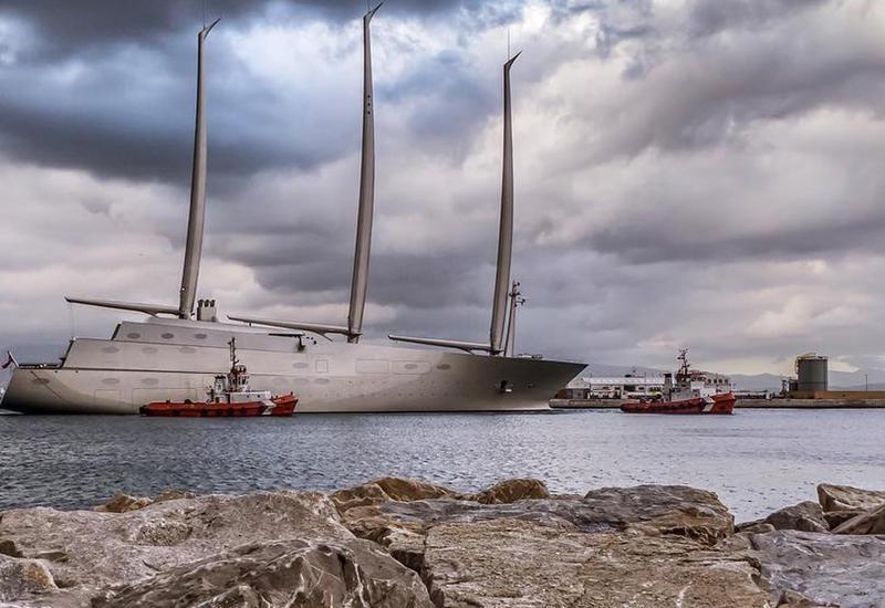 """В Гибралтаре арестована крупнейшая в мире парусная яхта <span class=""""color_red"""">- ФОТО</span>"""