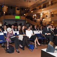 """Первая леди Мехрибан Алиева на Мюнхенской конференции наблюдала за ходом панельного обсуждения, связанного с безопасностью в области здравоохранения <span class=""""color_red"""">- ФОТО</span>"""