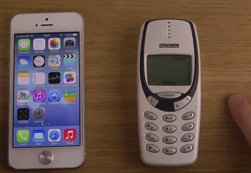 """Легендарный Nokia 3310 побил iPhone 7 в тесте на быстродействие <span class=""""color_red"""">- ВИДЕО</span>"""
