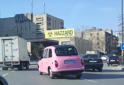 """Тюнингованный """"бадымджан"""" на улицах Баку <span class=""""color_red"""">- ФОТО</span>"""