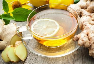 Имбирно-лимонный чай для похудения - Пошаговый рецепт