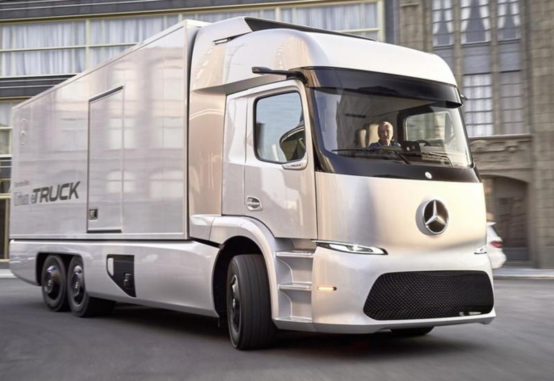 """Mercedes-Benz начнет продажи сенсационного электрогрузовика <span class=""""color_red"""">- ФОТО</span>"""