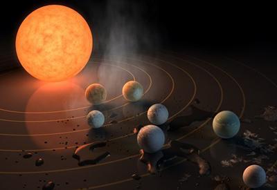 """NASA обнаружило семь потенциально пригодных для жизни планет <span class=""""color_red"""">- ФОТО - ВИДЕО</span>"""