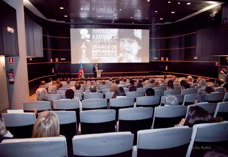 """В Мадриде состоялось мероприятие в рамках кампании """"Справедливость к Ходжалы!"""" <span class=""""color_red"""">- ФОТО</span>"""