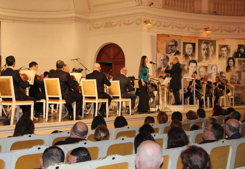 "В Филармонии звучала музыка Гаджи Ханмамедова <span class=""color_red""> - ФОТО</span>"