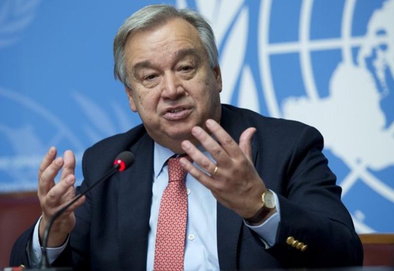 Генсек ООН призвал к миру на Южном Кавказе