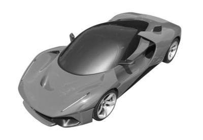 "Ferrari запатентовала загадочную супер-новинку <span class=""color_red"">- ФОТО</span>"