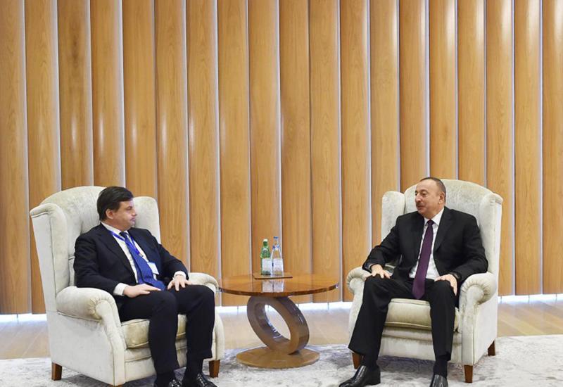 """Президент Ильхам Алиев: Связи между Азербайджаном и Италией диверсифицируются <span class=""""color_red"""">- ФОТО</span>"""