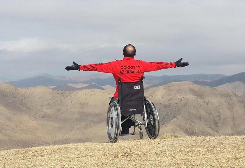 "Снят фильм об азербайджанском паралимпийце, который любит экстрим <span class=""color_red"">- ФОТО</span>"