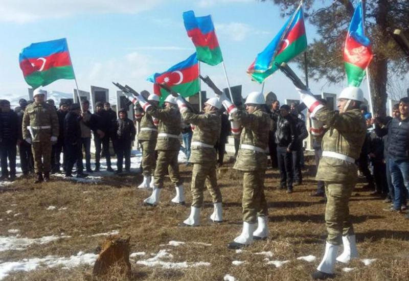 """Азербайджанский шехид похоронен в Шамкире <span class=""""color_red"""">- ФОТО</span>"""