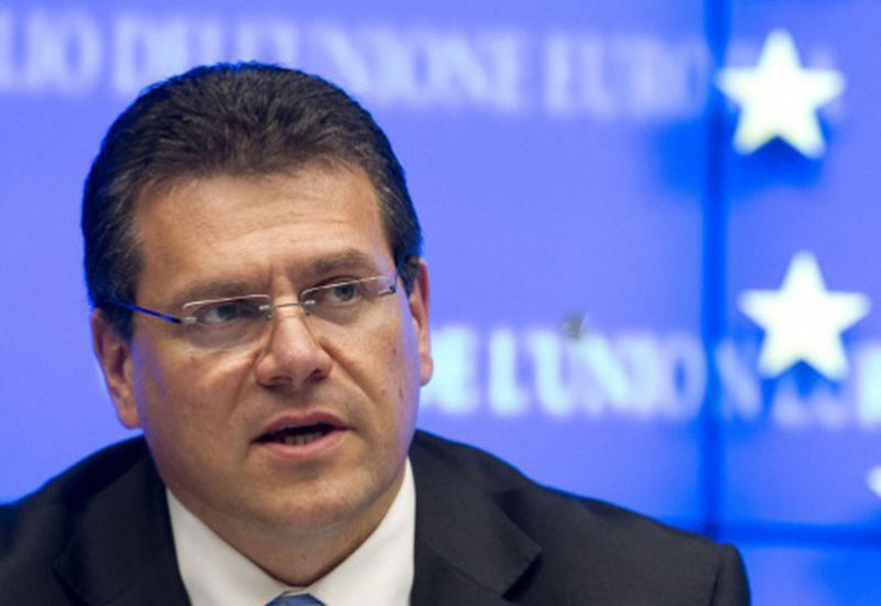 Шефчович едет в Италию на переговоры по ТАР