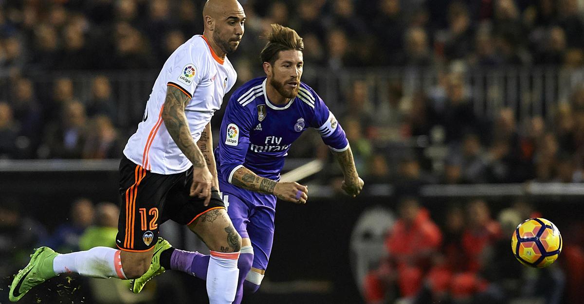 «Валенсия» одолела «Реал» вматче чемпионата Испании