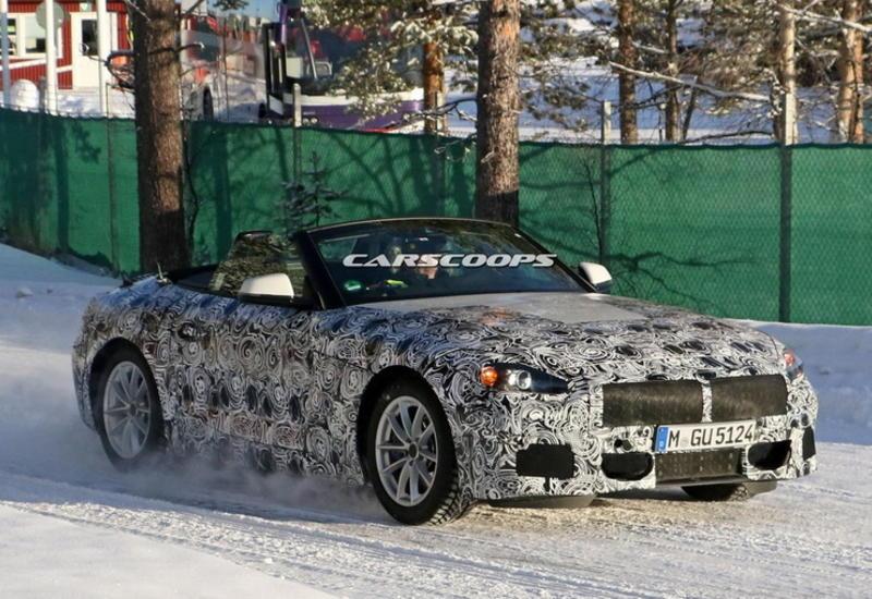 """Новый BMW Z5 впервые опустил крышу на камеру <span class=""""color_red"""">- ФОТО</span>"""