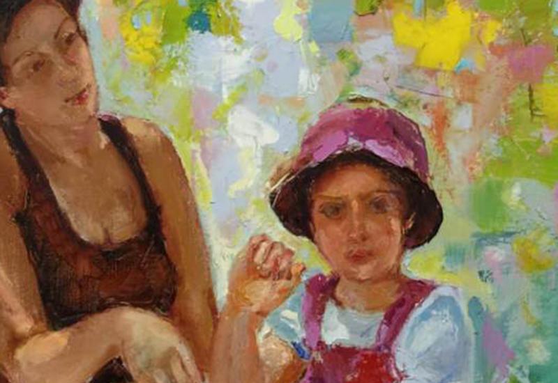 """Картинная галерея"" Day.Az: Портреты Карло Вендова <span class=""color_red"">- ФОТО</span>"