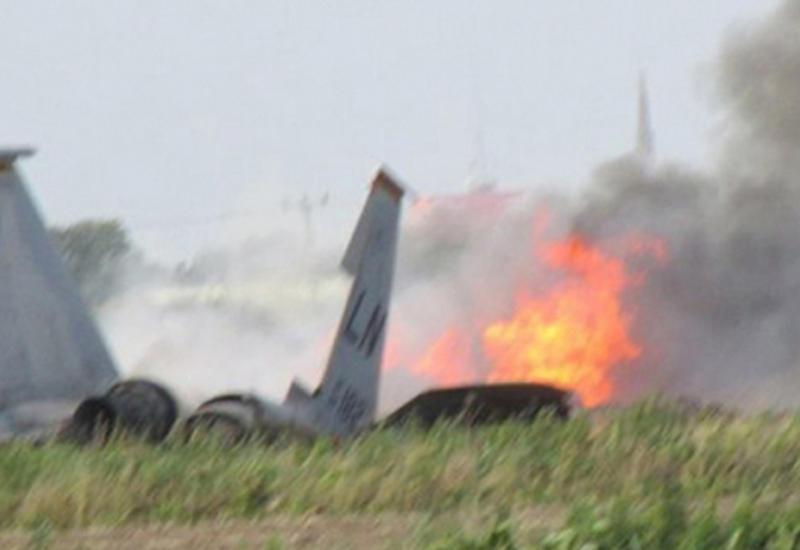 В Саудовской Аравии разбился иорданский истребитель
