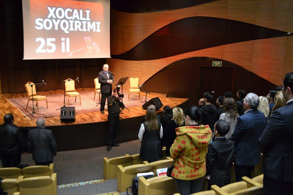 Азербайджанский парламент обратился кстранам мира запризнанием геноцида вХоджалы
