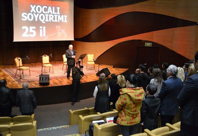 """В Центре мугама состоялся вечер памяти жертв геноцида в Ходжалы <span class=""""color_red"""">- ФОТО</span>"""