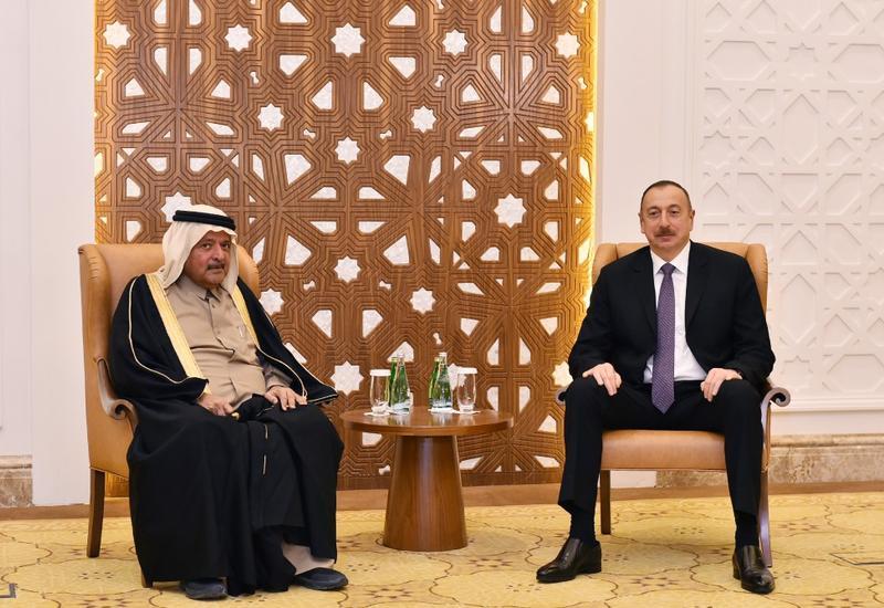 Президент Ильхам Алиев встретился с главой компании Al Faisal Holding
