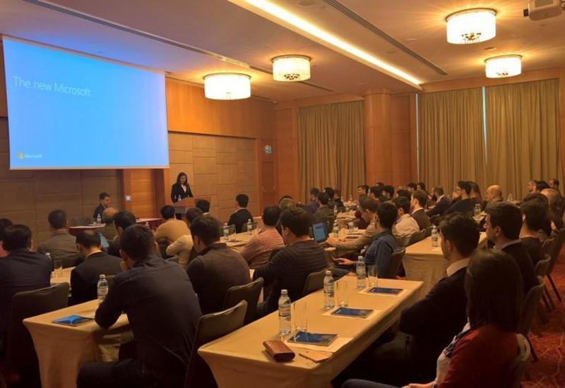 """Microsoft провел семинар для азербайджанских программистов <span class=""""color_red"""">- ФОТО</span>"""