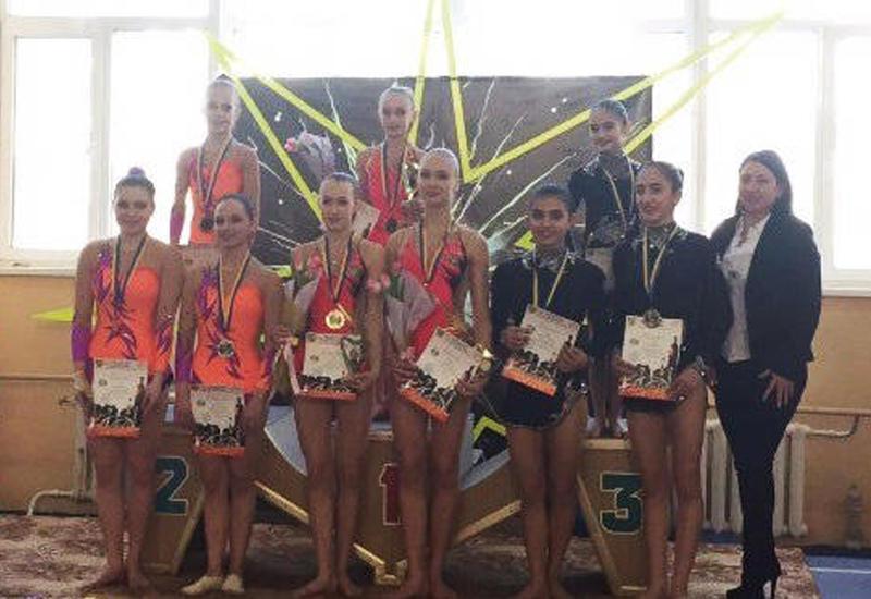 Азербайджанские акробаты завоевали медали на соревнованиях в Украине
