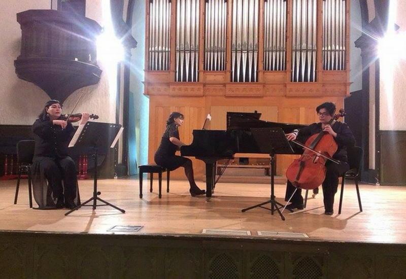 """Состоялось несколько премьер от фортепианного трио в Баку <span class=""""color_red"""">- ФОТО</span>"""