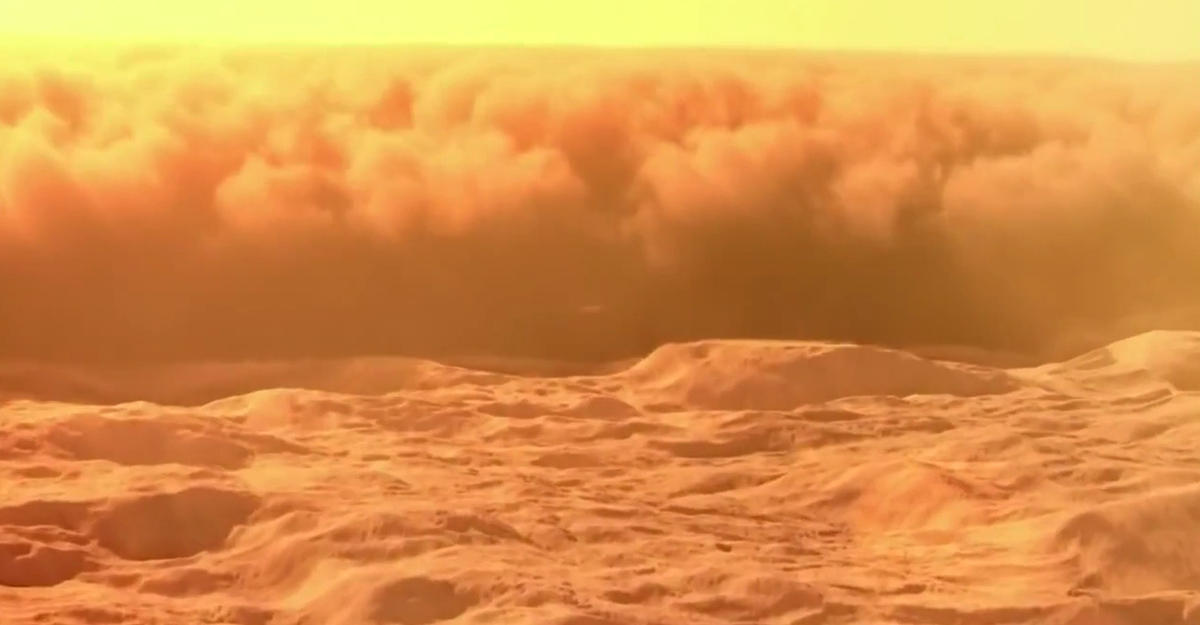 Марсоход Curiosity снял навидео марсианский торнадо