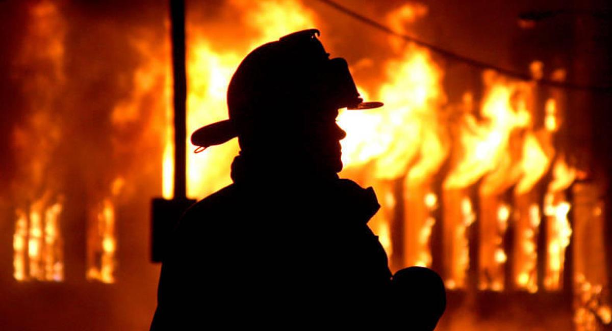 Впожаре натерритории университета в столице умер человек