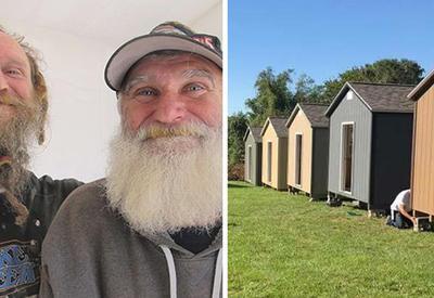 В Канзасе построили бесплатные дома для ветеранов, которым негде жить