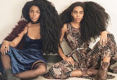 Cестры-близнецы с невероятно красивой прической завоевали любовь Интернета