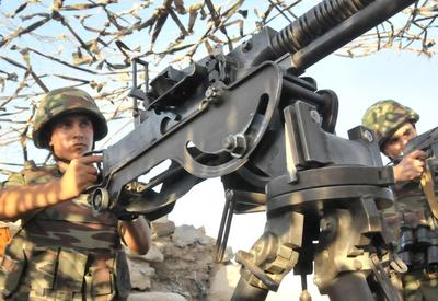 ВС Армении устроили массированный обстрел из пулеметов