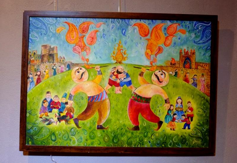 "Краски Новруза в картинах азербайджанских художников <span class=""color_red"">- ФОТО</span>"