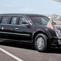 """Трамп показал свой бронированный автомобиль, который выдержит ракетный удар <span class=""""color_red"""">- 9 ФОТО</span>"""