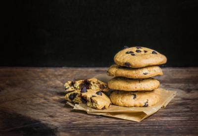 Печенье с кусочками шоколада  - Пошаговый рецепт