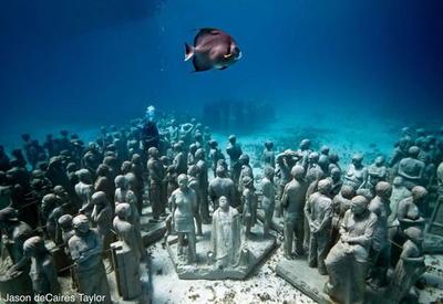 Древние города на морском дне