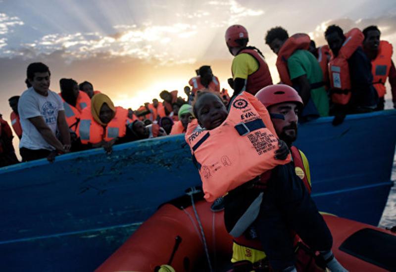У берегов Ливии затонули два судна с мигрантами