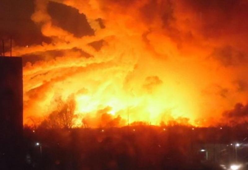 """Крупный пожар в Украине, эвакуированы десятки тысяч человек <span class=""""color_red"""">- ОБНОВЛЕНО - ФОТО - ВИДЕО</span>"""