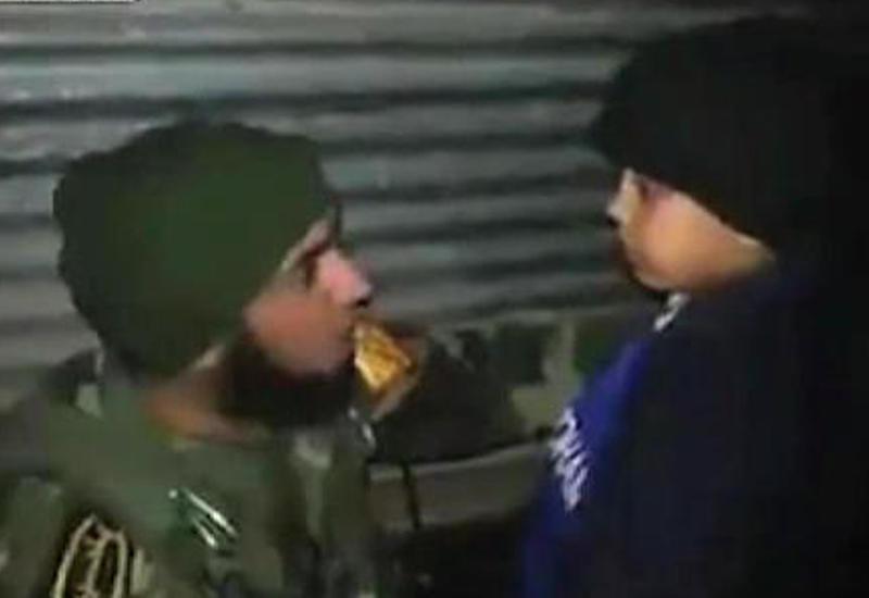 """Иракские военные разминировали опоясанного бомбой ребенка <span class=""""color_red"""">- ВИДЕО</span>"""