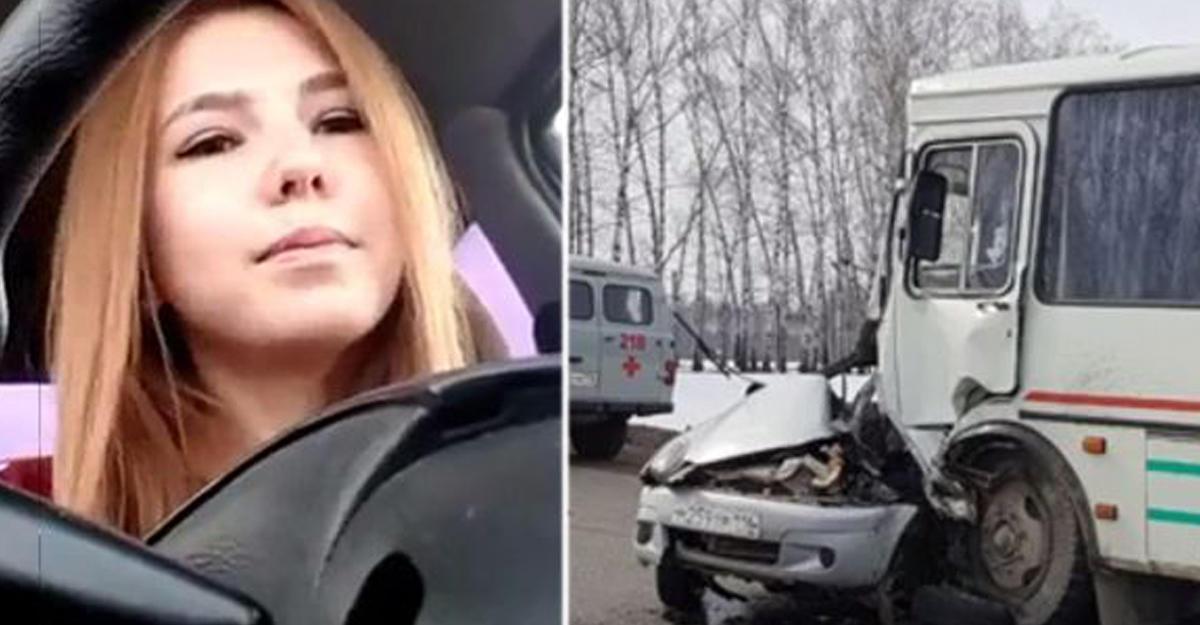 Жительница Татарстана погибла вДТП впроцессе прямой трансляции «ВКонтакте»