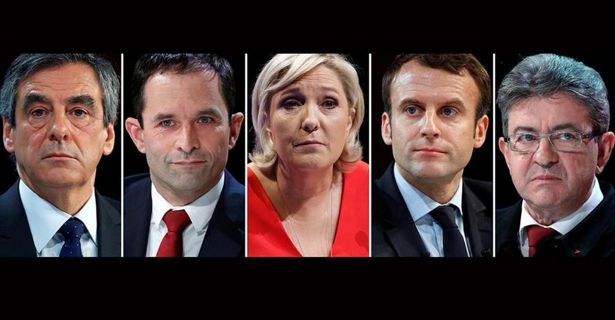 Макрон впервый раз лидирует вопросах обудущем президенте Франции