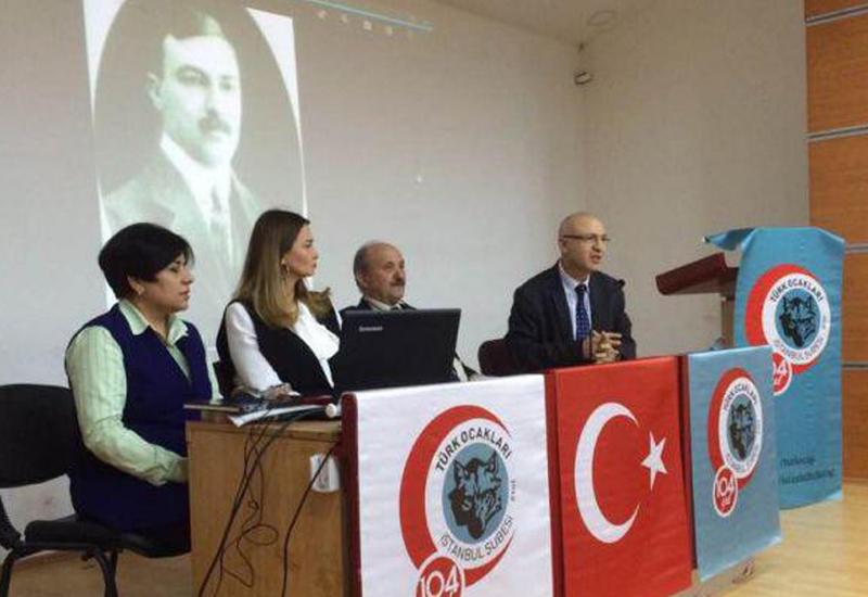 """Erməni terrorunun qurbanı Behbud Xan Cavanşir İstanbulda anılıb <span class=""""color_red"""">- FOTOLAR</span>"""