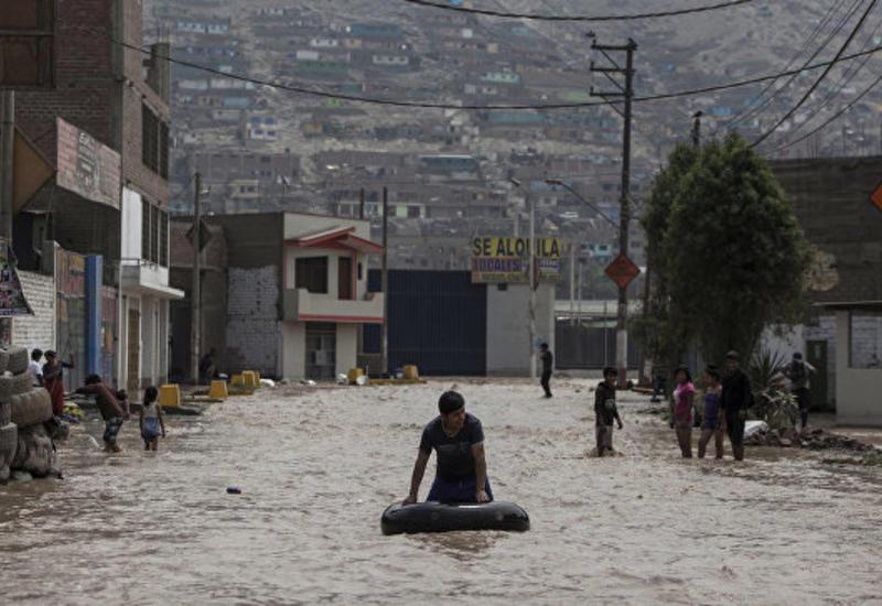 Наводнения в Перу: число жертв возросло до 90 человек