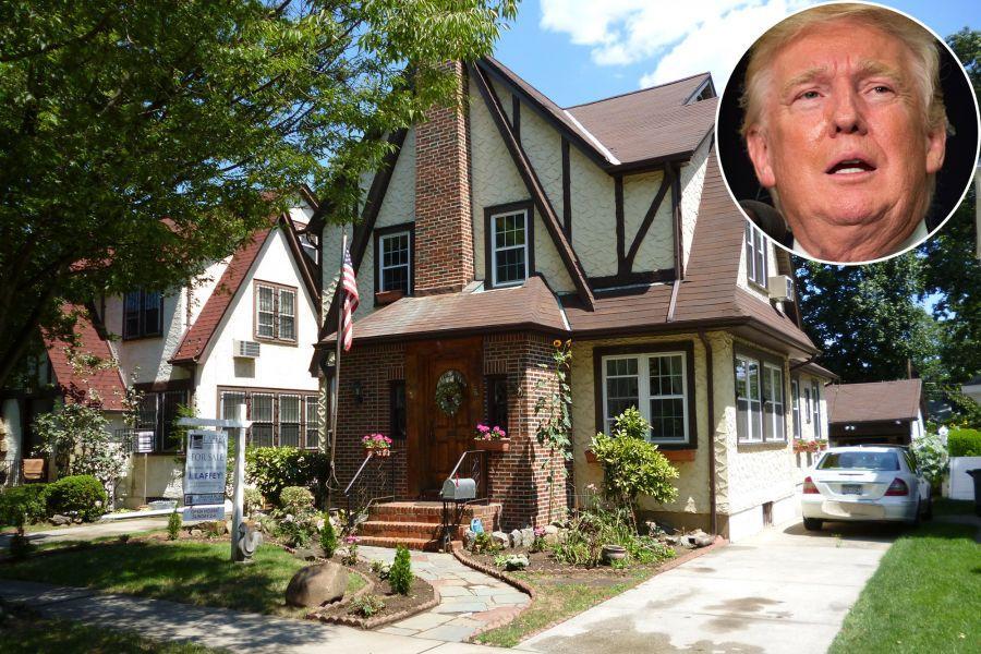ВСША продали дом, вкотором вырос Дональд Трамп