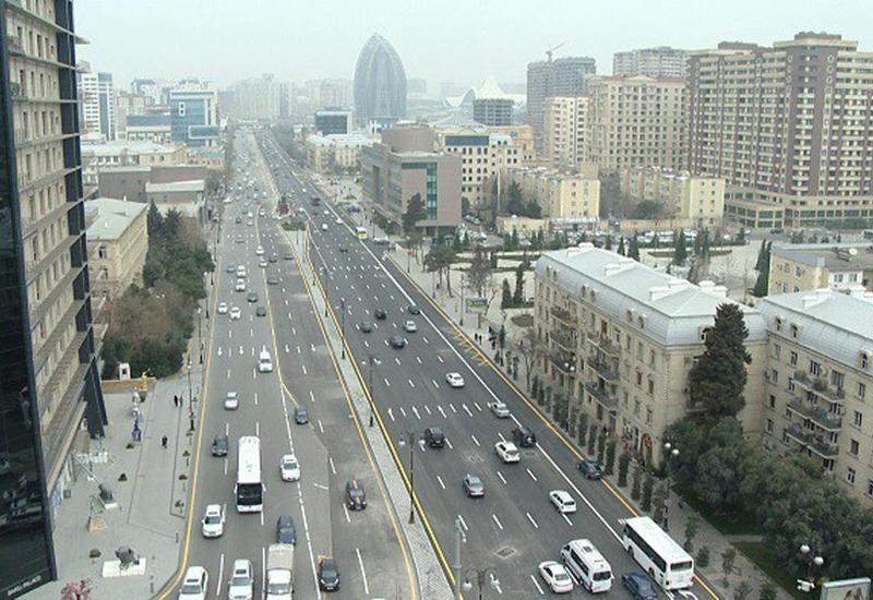 """В Баку реконструирована одна из центральных улиц <span class=""""color_red"""">- ФОТО - ВИДЕО</span>"""