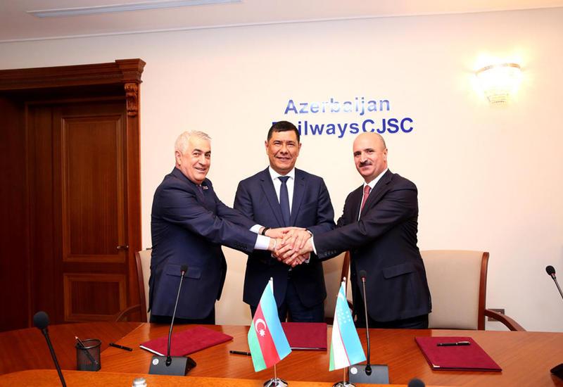 "Азербайджан и Узбекистан будут вместе развивать транзитные грузоперевозки <span class=""color_red"">- ФОТО</span>"